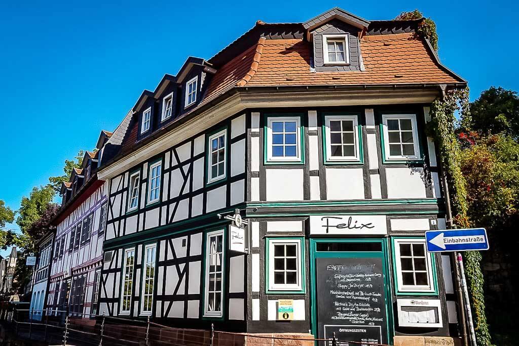 Fachwerkhaus Restaurant Felix in Nordhausen, Thüringen