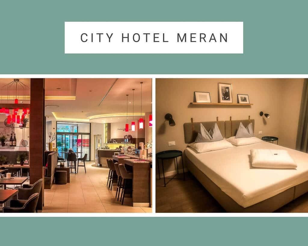 City Hotel Meran - Lobby ud Doppelzimmer