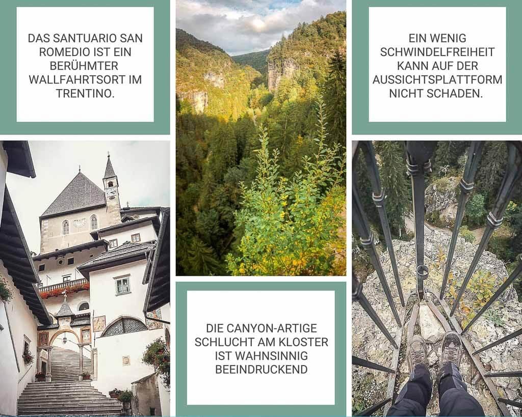Wanderung von Meran zum Gardasee -Kloster San Romedio im Trentino