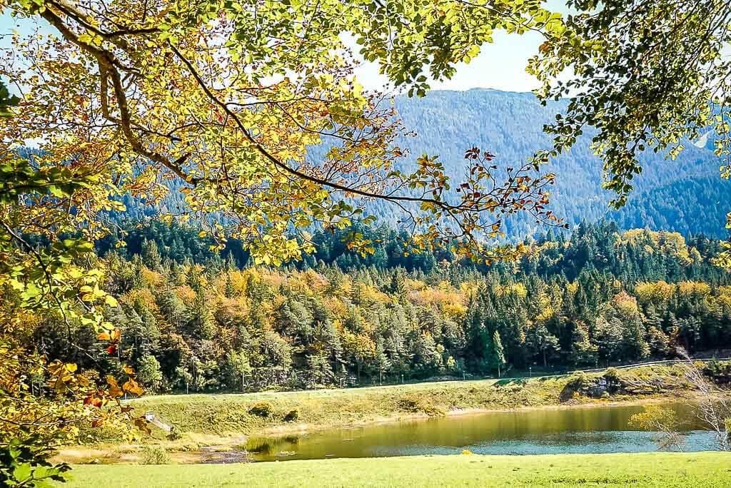 Der Lago di Andalo - See im Nonstal