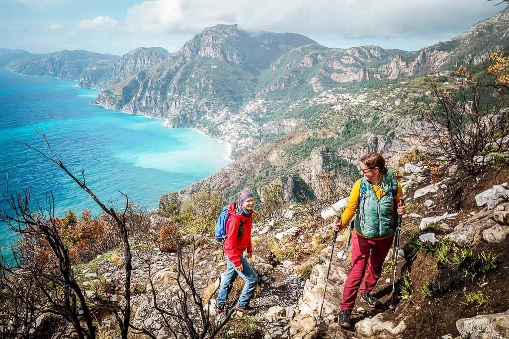 Frosch Sportreisen Wanderung an der Amalfiküste auf dem Sentiero degli Dei mit Couchflucht