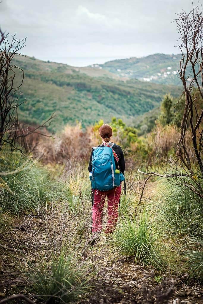 Frosch Sportreisen Wanderung im Cilento Nationalpark im Tal der Mortelle mit Couchflucht Sabrina Bechtold
