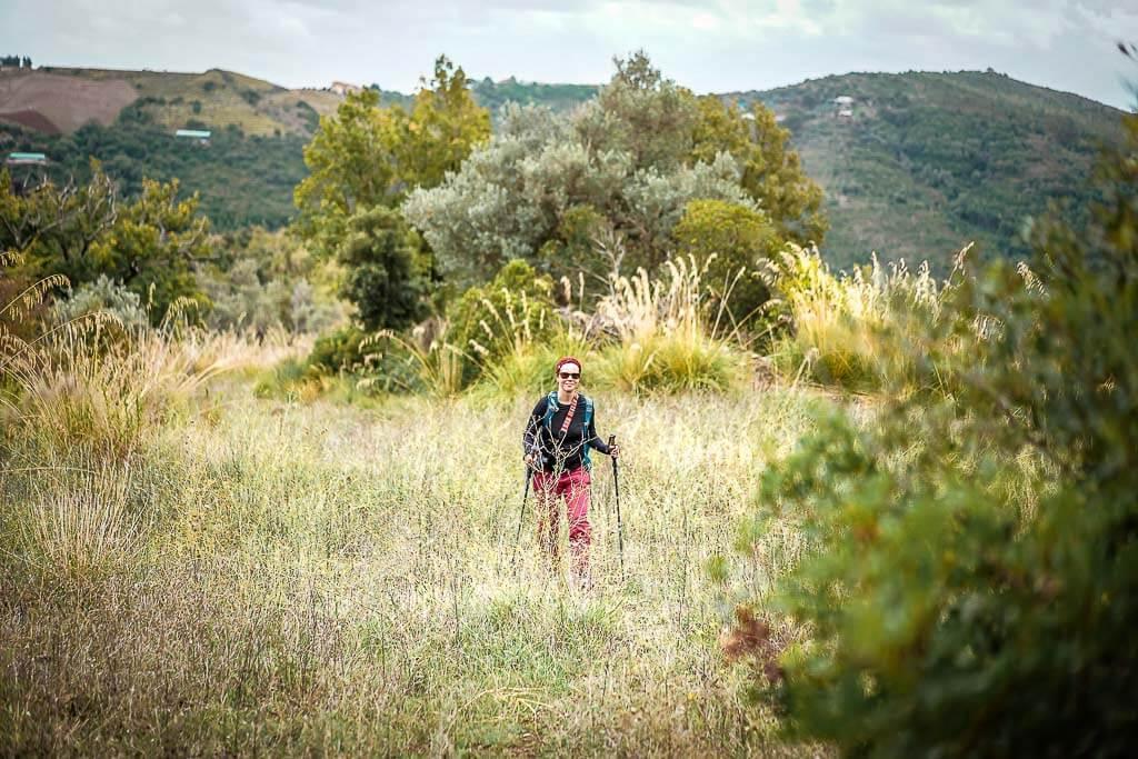 Couchflucht Sabrina Bechtold wandert im Cilento mit Frosch Sportreisen