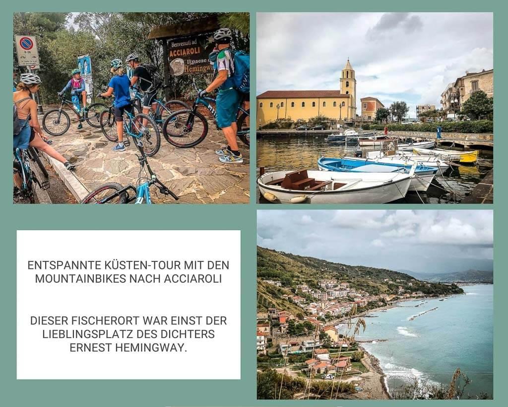 Frosch Sportreisen Mountainbike Tour im Cilento Nationalpark nach Acciaroli