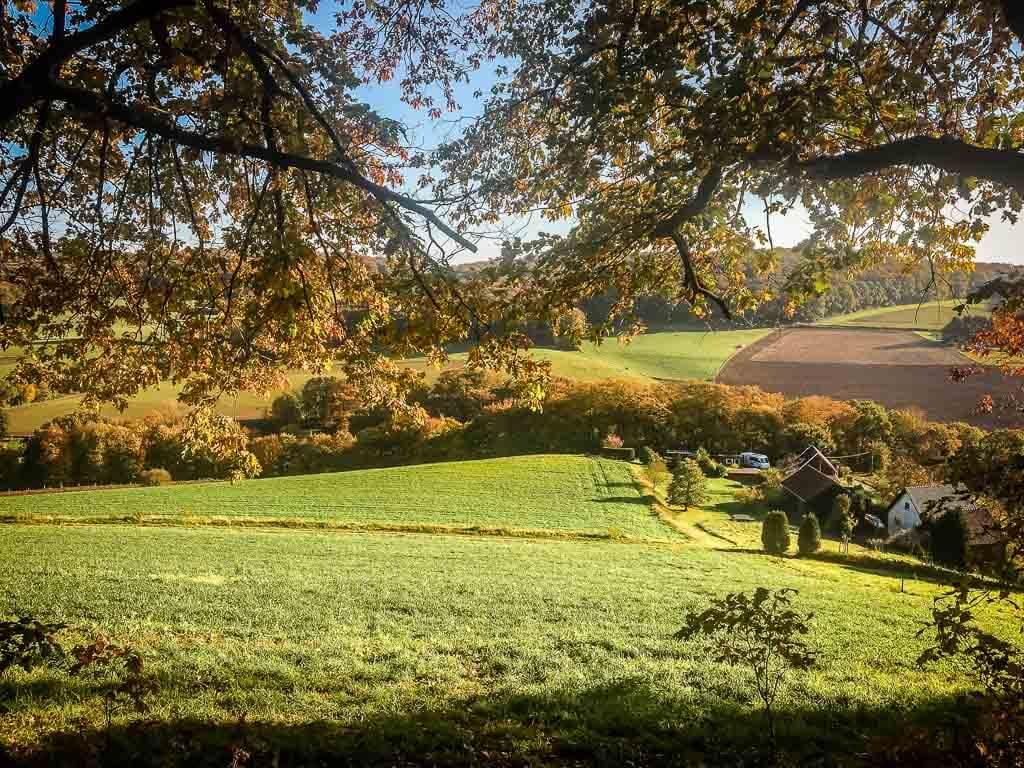 Bergisches Land Wandern - Elfringhauser Schweiz - Landschaftsidylle