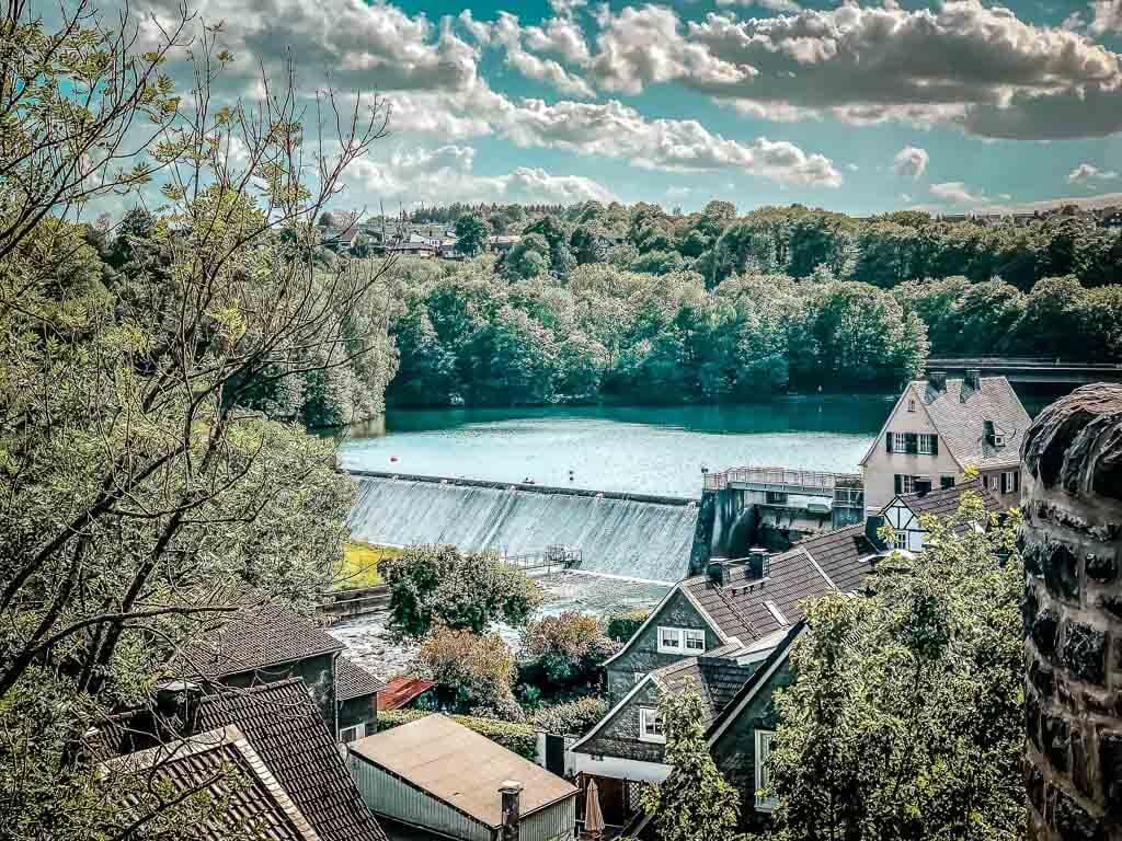 Wandern im Bergischen Land - Beyenburger Stausee in Wuppertal