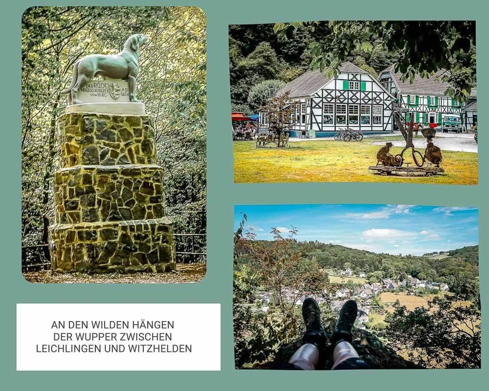 Wandern Bergisches Land Wupperhaenge Leichlingen Witzfelden Rüdenstein