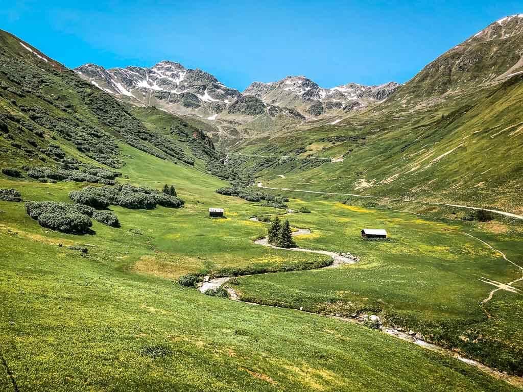 Die schönsten Orte in Österreich mit einer Almenidylle und Bergwelt in Serfaus-Fiss-Ladis