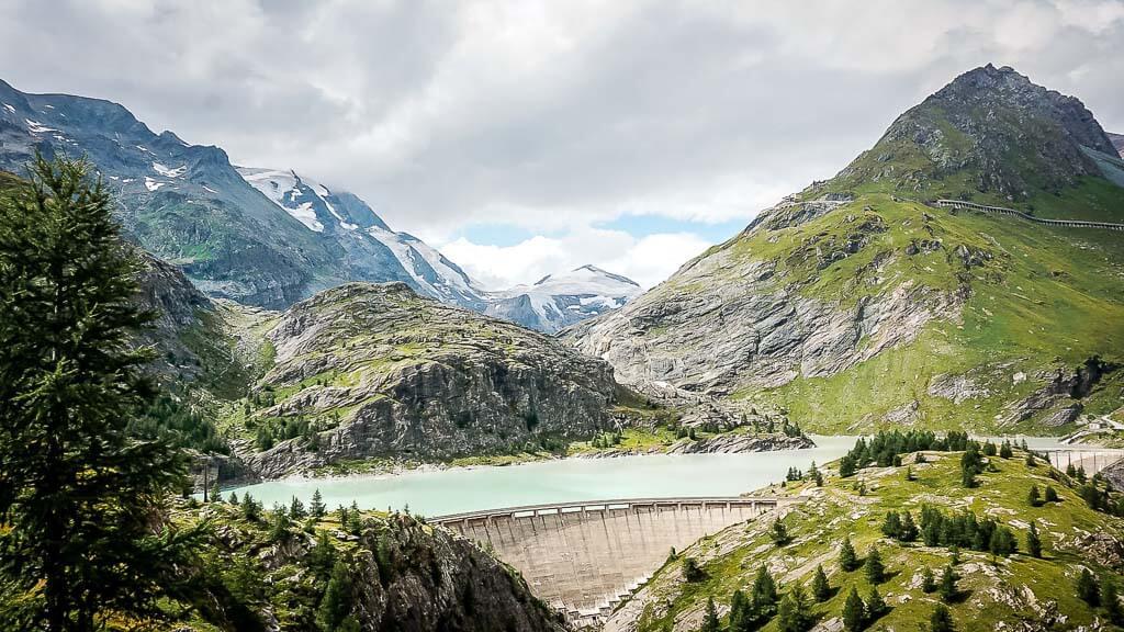 Die schönsten Orte in Österreich mit dem Margaritzen-Stausee in den Hohen Tauern -Grossglockner Region