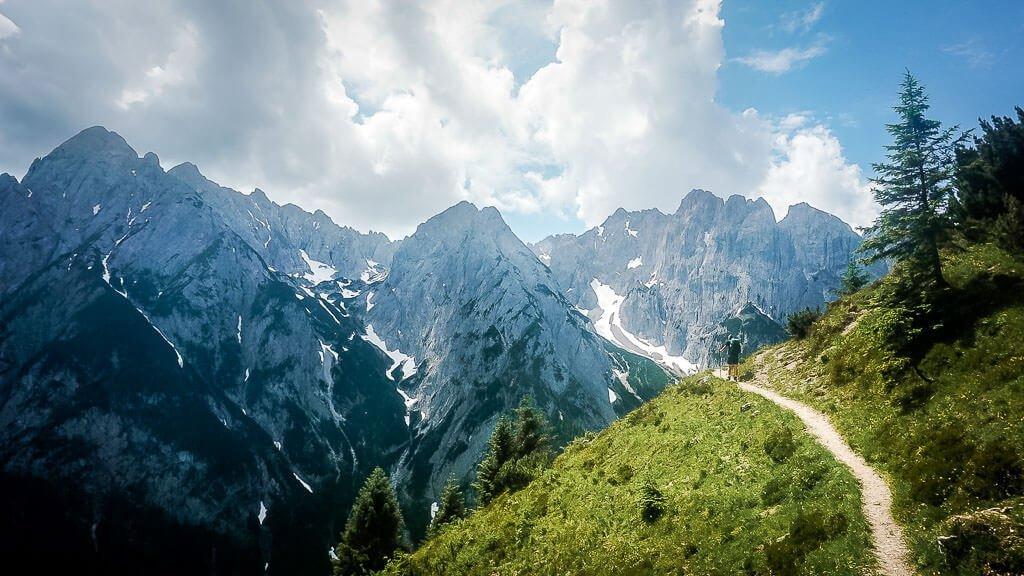 Die schönsten Orte in Österreich mit dem Wilden Kaiser im Kaiserbachtal-Tirol