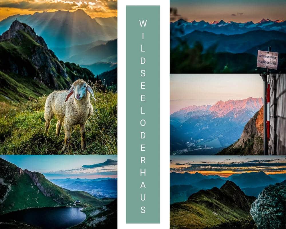 Die schönsten Orte in Österreich am Wildseeloderhaus im Pillerseetal in den Kitzbüheler Alpen