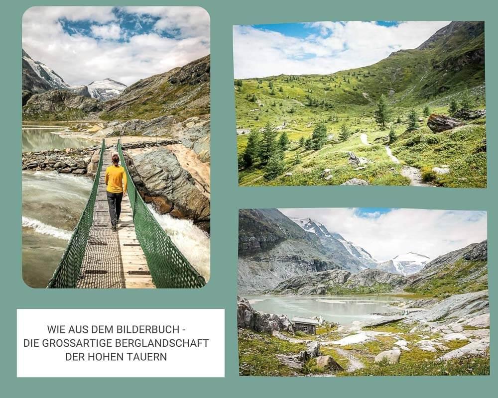 Die schönsten Orte in Österreich - Couchflucht wandert vom Grossglockner nach Heiligenblut durch die Hohen Tauern