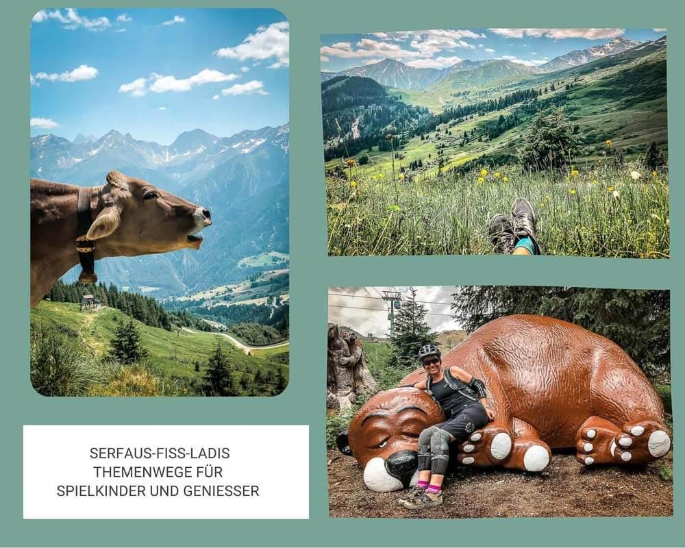 Die schönsten Orte in Österreich mit Impressionen von Serfaus-Fiss-Ladis in Tirol