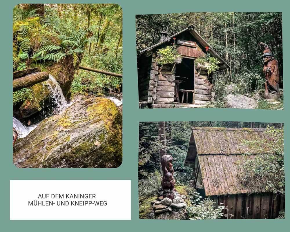 Kaninger Mühlen und Kneipp-Weg bei den Nockbergen