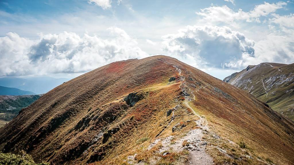 Nockberge Wandern auf dem Gratweg am Mallnock