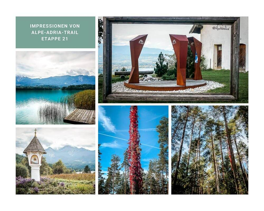 Kärntner Seen - Wandern auf dem Alpe Adria Trail von Velden zur Baumgartnerhöhe