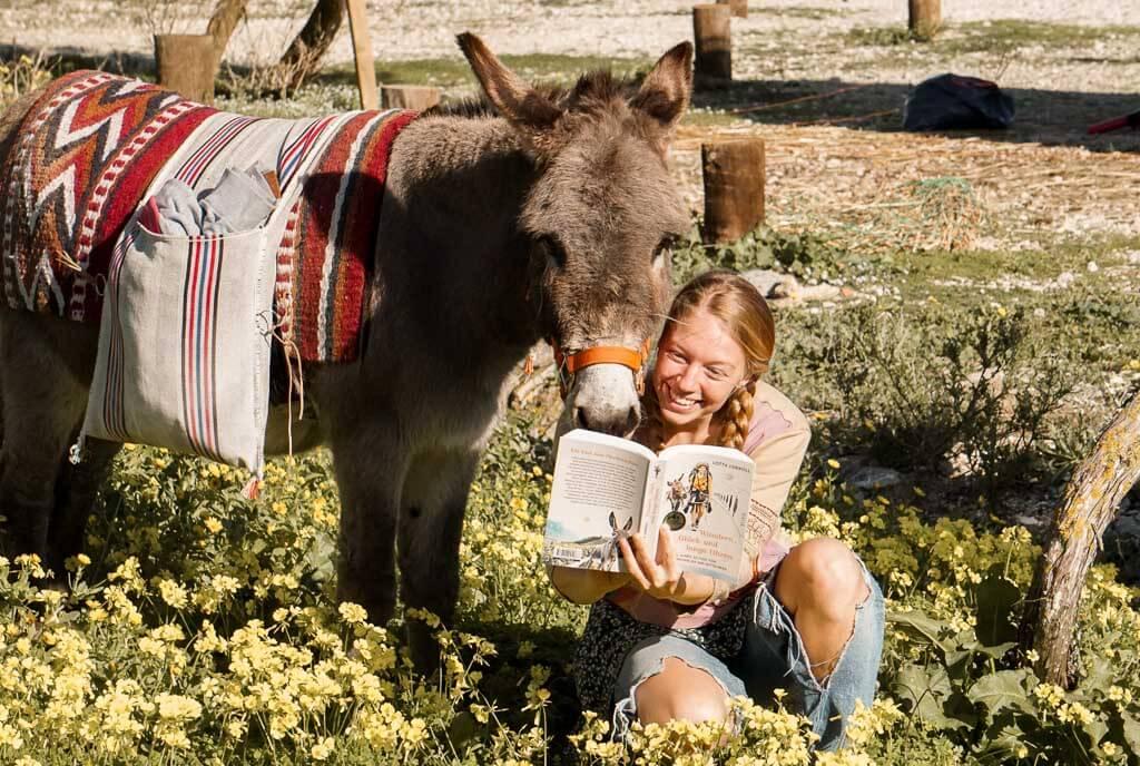 Wandern mit Esel Jonny - Buch von Lotta Lubkoll