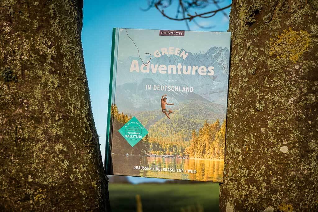 Green Adventures in Deutschland - Buchcover