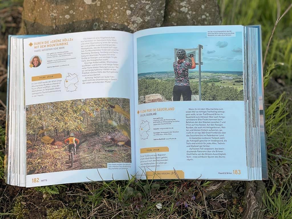 Auszug aus dem Buch Green Adventures in Deutschland - Mountainbike Tipps von Couchflucht