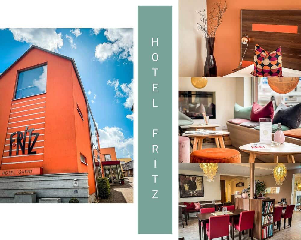 Hotel F-Ritz in Schleswig-Friedrichsberg