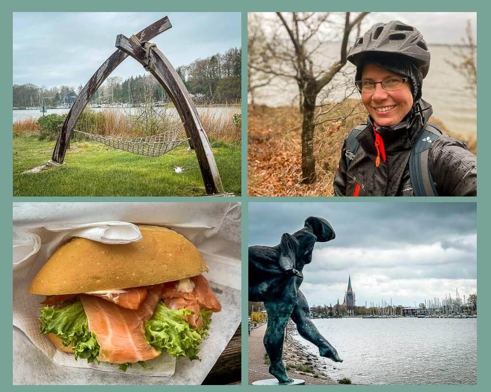 Couchflucht Sabrina Bechtold auf Fahrradtour von Schleswig nach Missunde