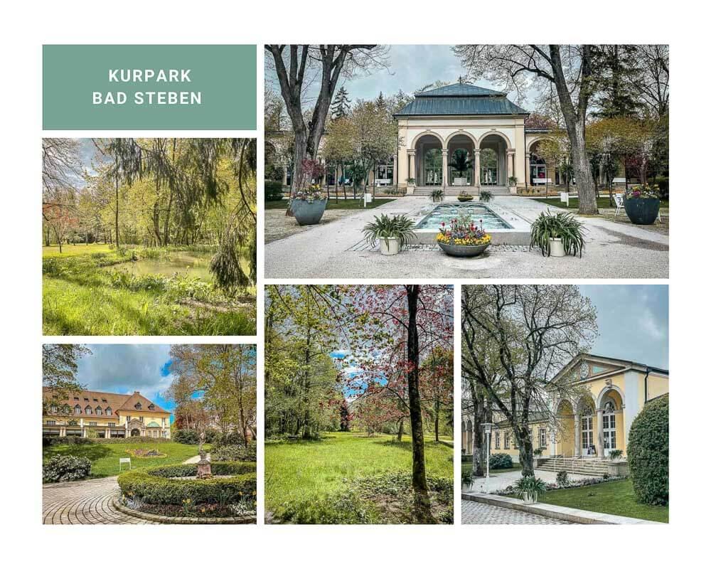 Kurpark Bad Steben im Frankenwald