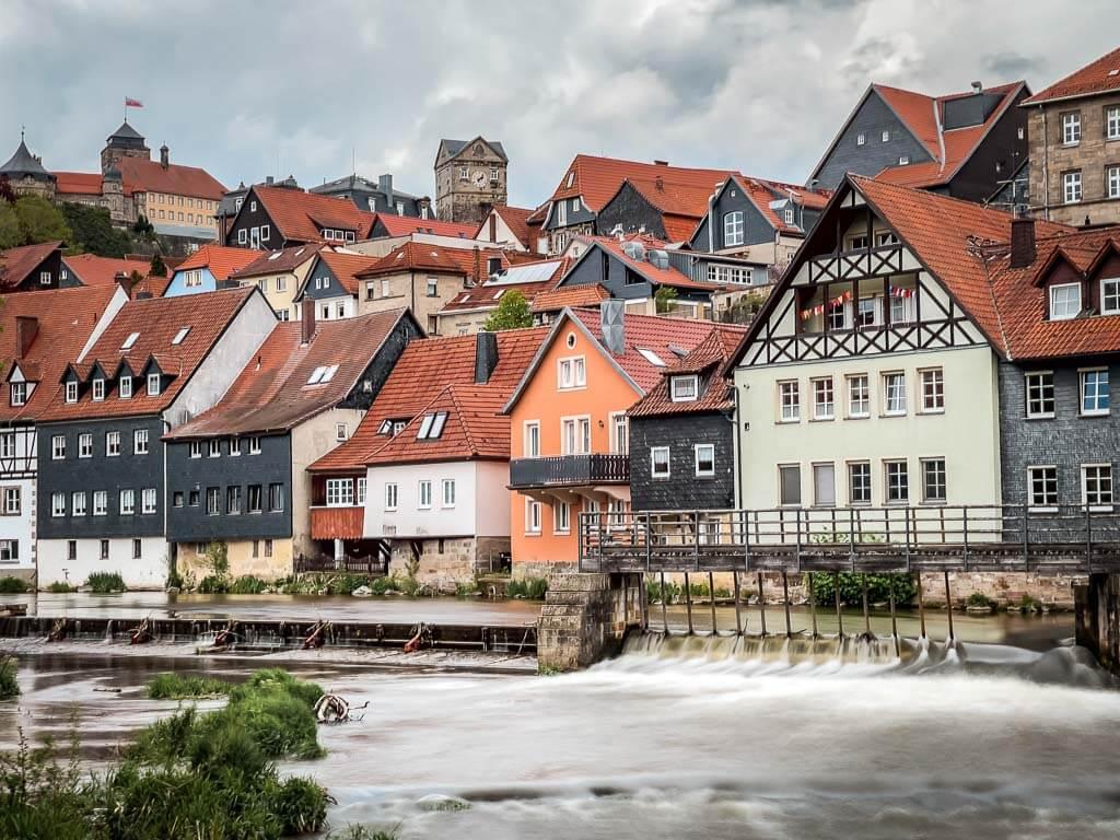 Kronach im Frankenwald mit Altstadt und Festung Rosenberg