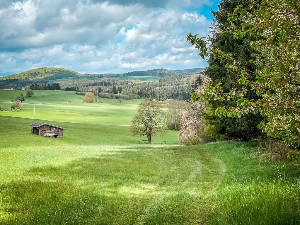 Frankenwald Wandern bei Bad Steben