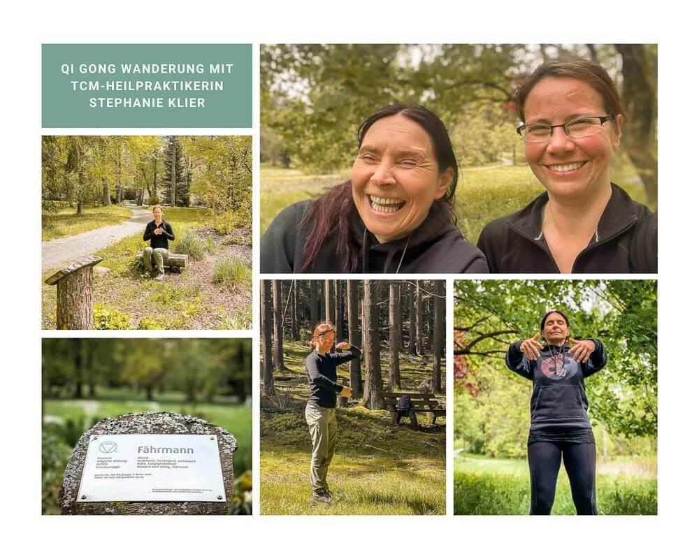 Qi Gong Wanderung mit TCM Heilpraktikerin Stephanie Klier im Frankenwald