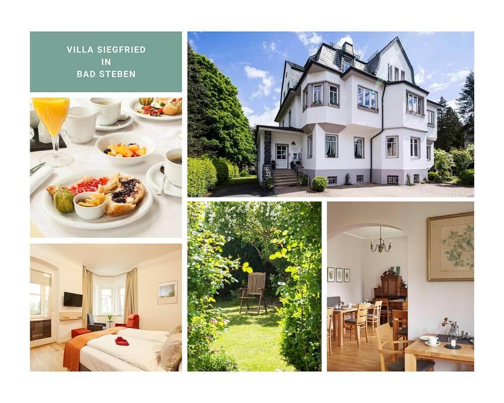 Villa Siegfried in Bad Steben im Frankenwald