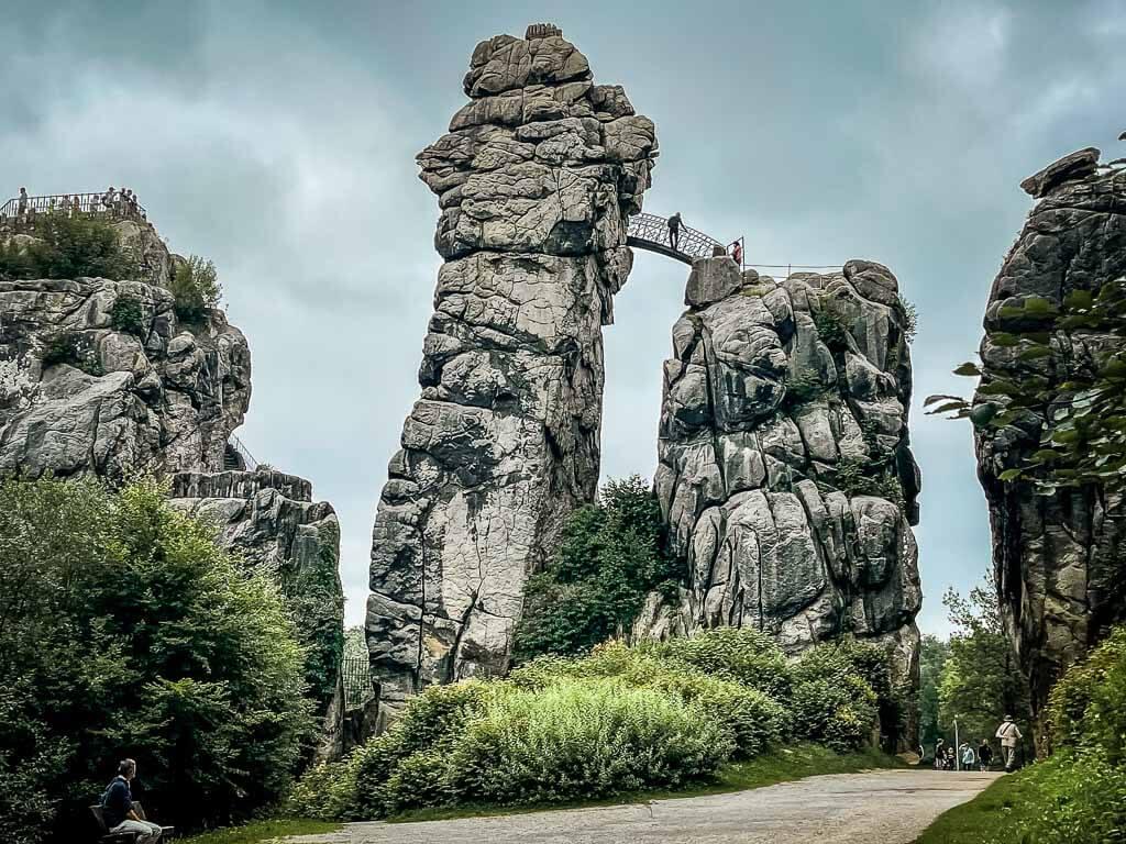 Hermannshöhen Externsteine im Teutoburger Wald