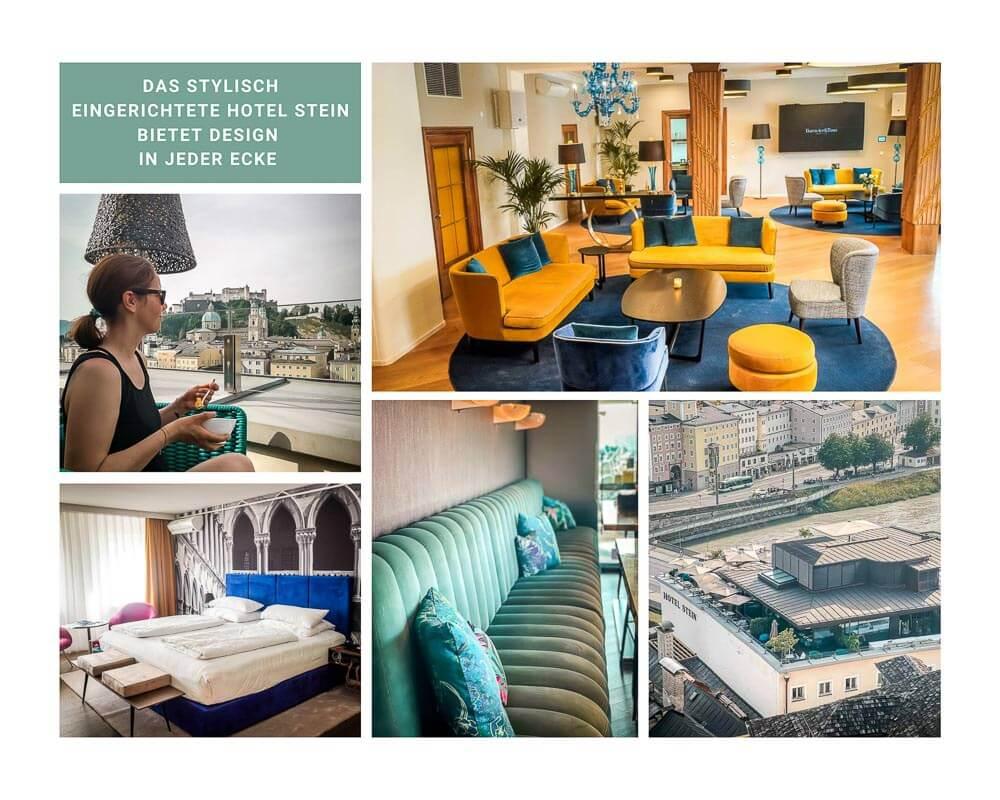 Salzburg Hotel Stein am Giselakai mit Einrichtung und Style