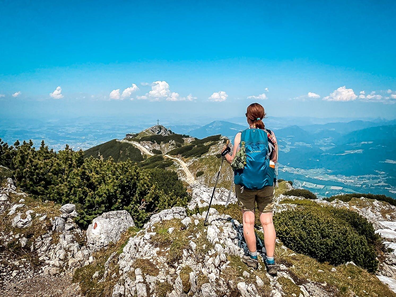 Salzburg Wandern vom Geiereck zum Salzburger Hochthron auf dem Untersberg