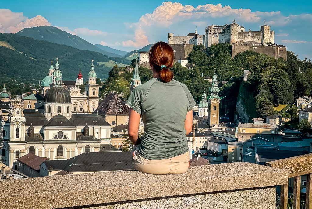 Salzburg Stadtwanderung auf den Festungsberg und Mönchsberg mit Couchflucht und Festungsblick