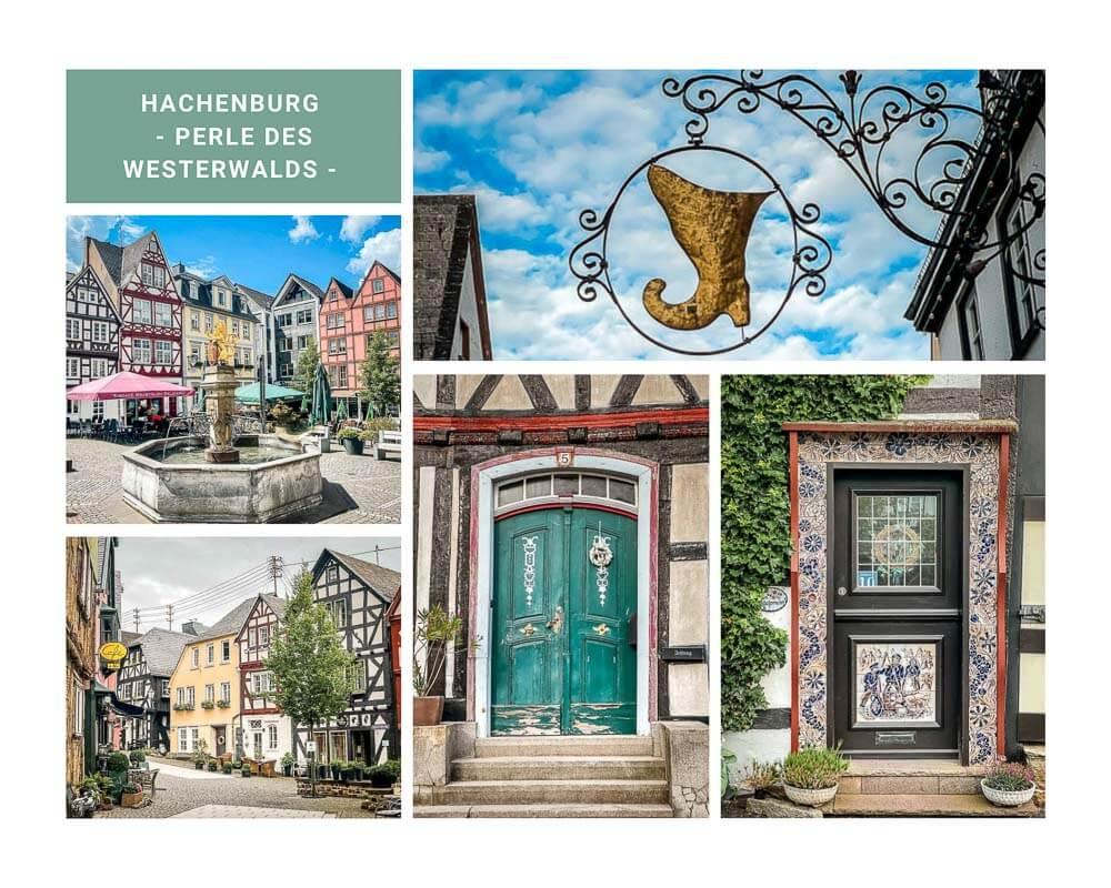 Historische Altstadt von Hachenburg im Westerwald