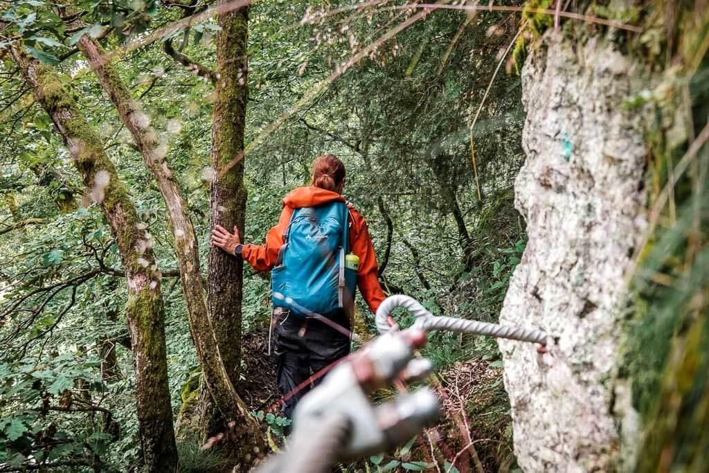 Wandern im Westerwald auf dem Naturpfad Weltende mit Couchflucht Sabrina Bechtold