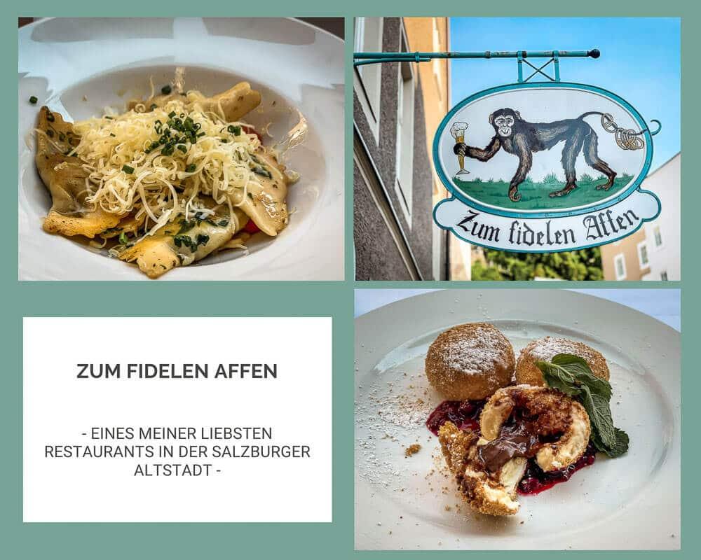 Salzburg Restaurant Zum Fidelen Affen