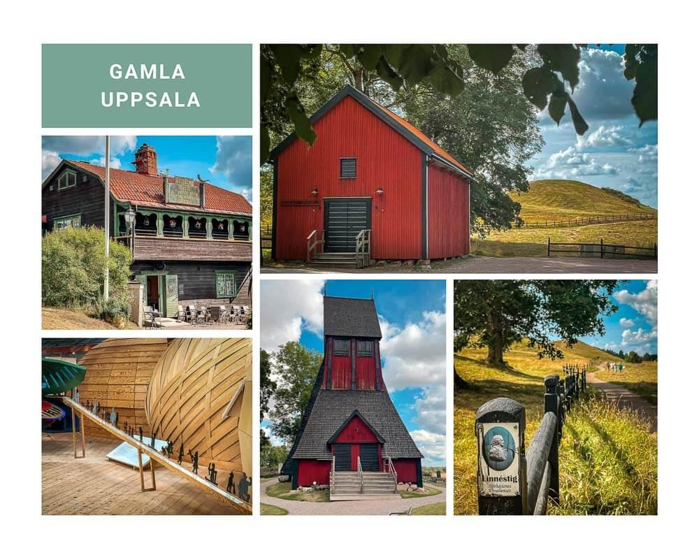 Gamla Uppsala Museum mit Kirche