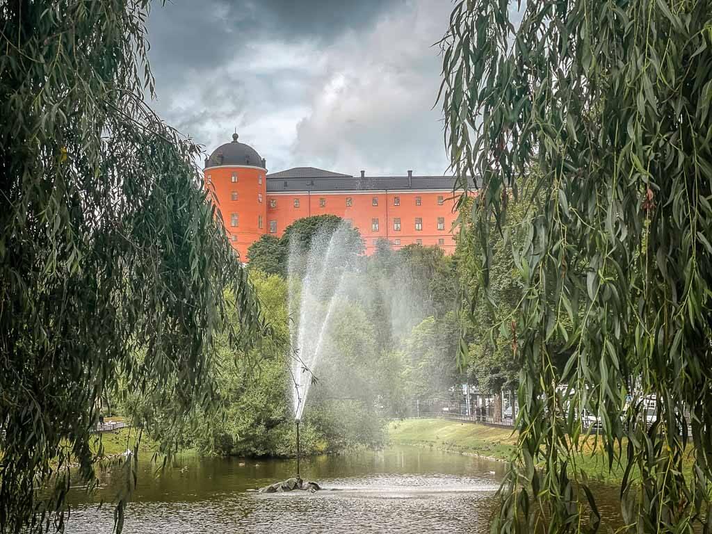Uppsala Schloss und Schlosspark