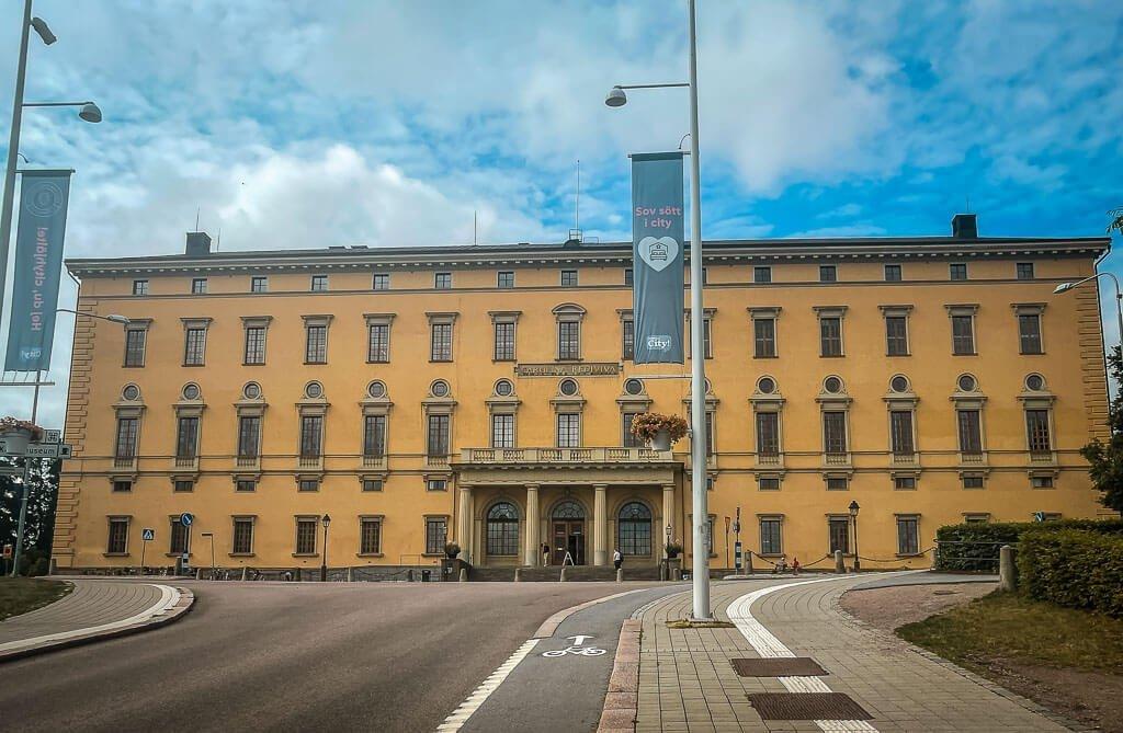 Universitätsbibliothek Carolina Rediviva in Uppsala