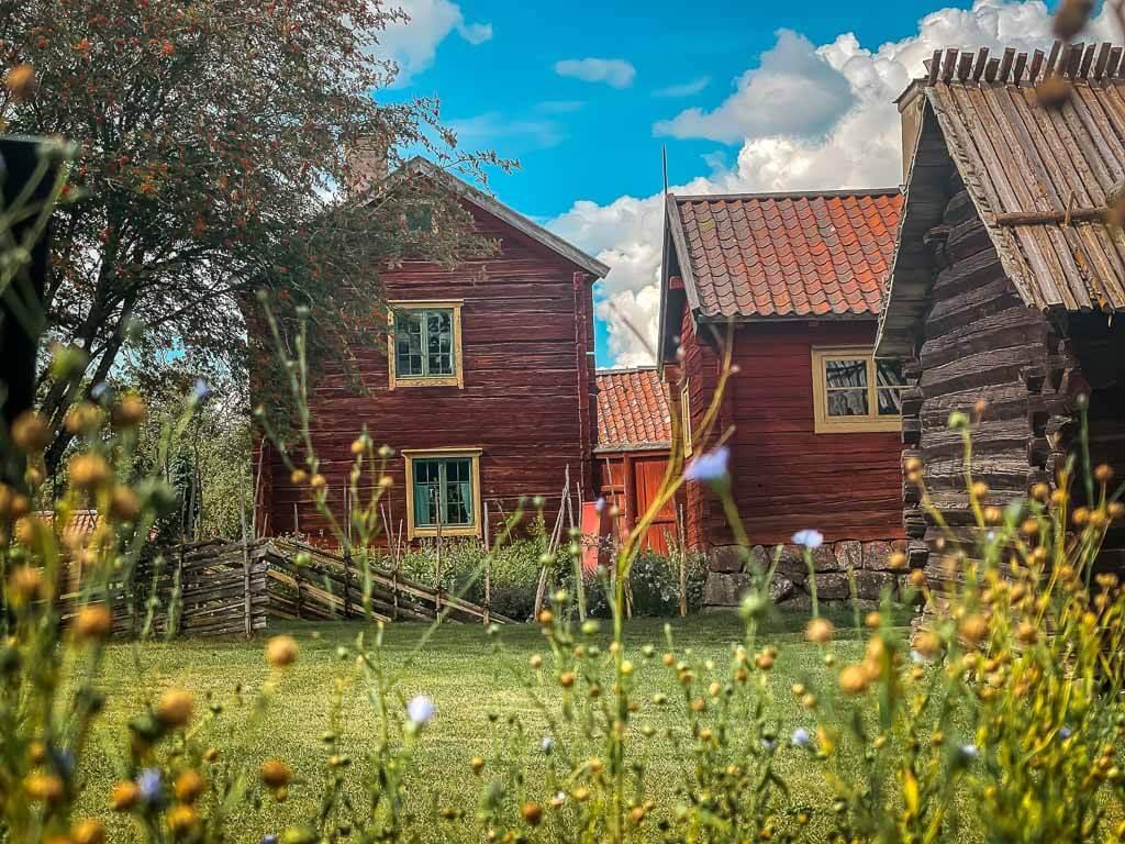 Uppsala Disagarden Freilichtmuseum