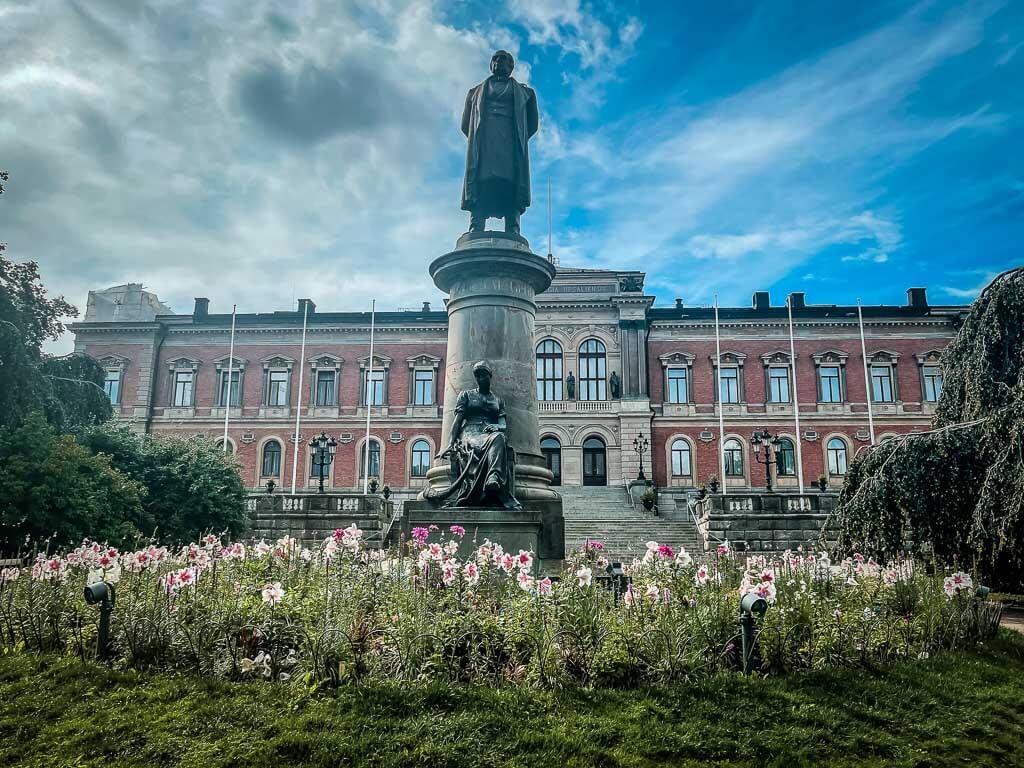 Universitätsgebäude Gustavianum in Uppsala