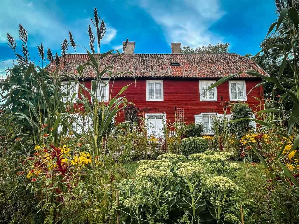 Uppsala Linnaeus Hammarsby Sommerhaus mit Garten