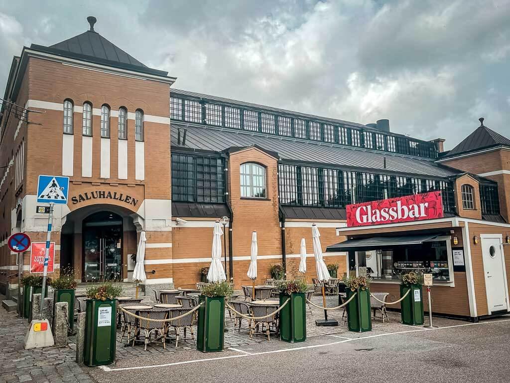 Saluhallen Markthalle in Uppsala