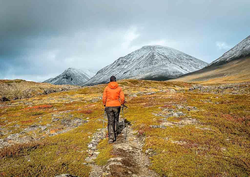 Couchflucht beim Trekking in Lappland auf dem Kungsleden
