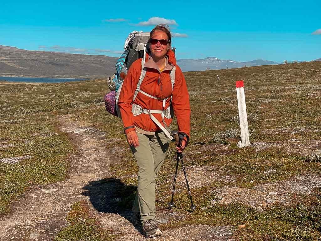 Couchflucht beim Trekking auf dem Padjelantaleden in Lappland