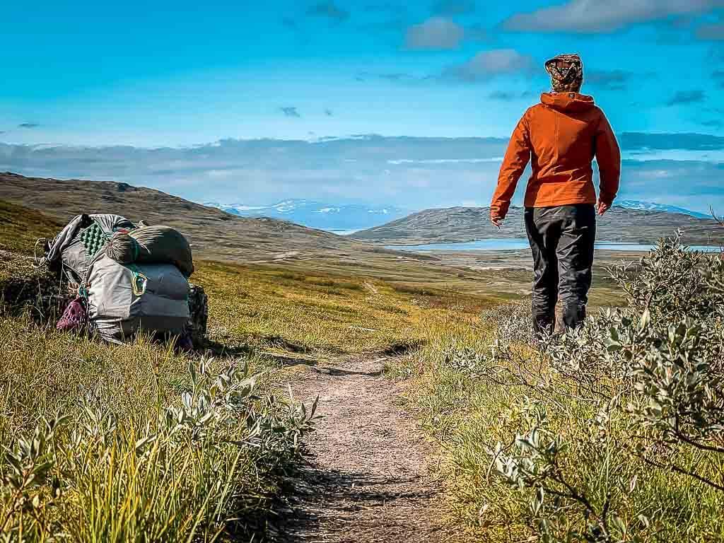 Couchflucht beim Trekking auf dem Padjelantaleden und Kungsleden in Lappland