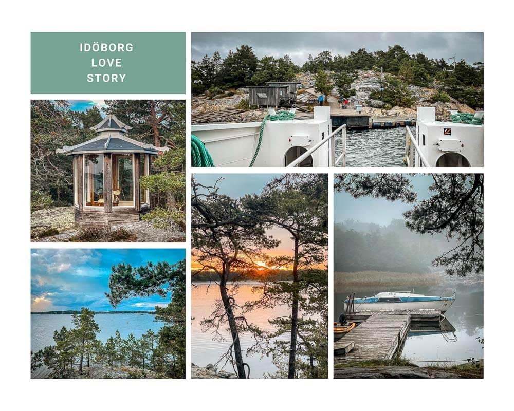 Impressionen der Insel Idöborg im Stockholmer Schärengarten