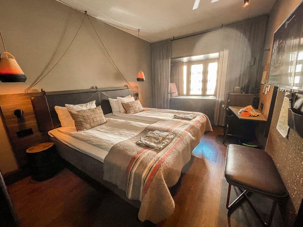 Downtown Camper Hotel Stockholm Zimmer