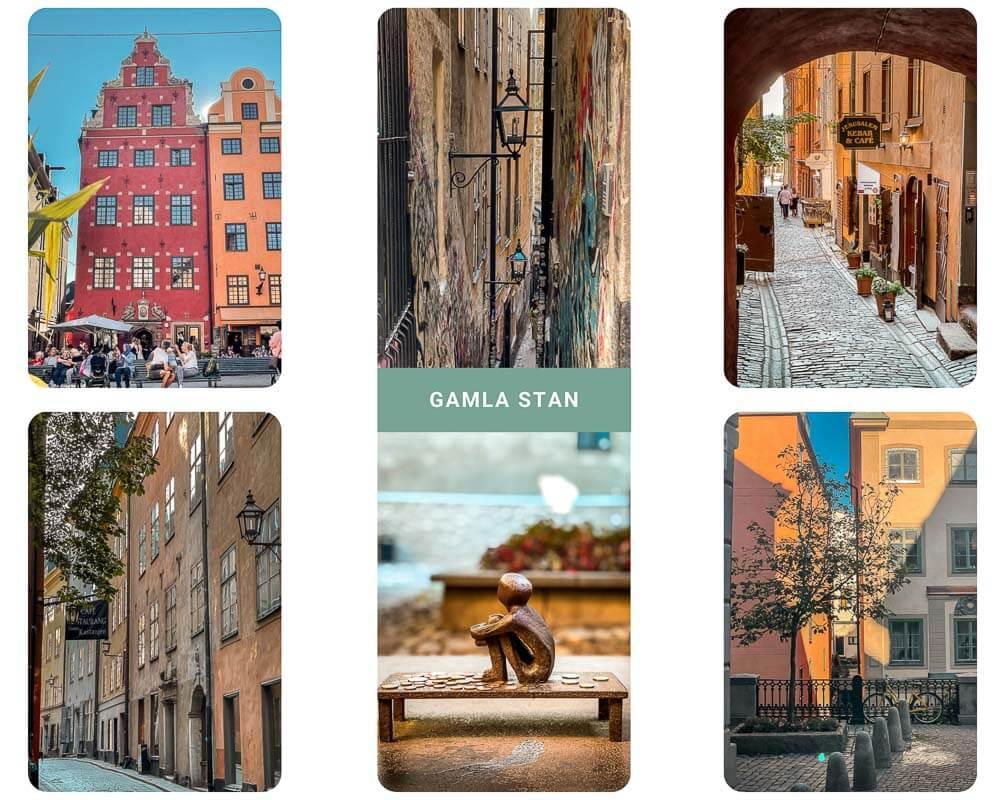 Stockholm Kurztrip in die Altstadt Gamla Stan